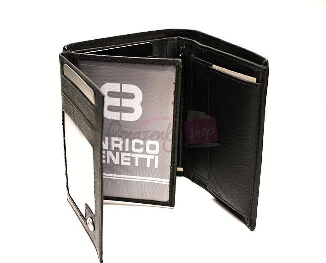 67ed3da0a4 Pánska kožená peňaženka Enrico Benetti