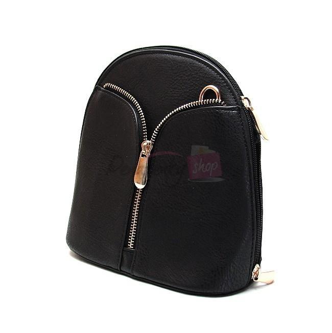 Crossbody čierna kabelka ILF H002 be3627cae89