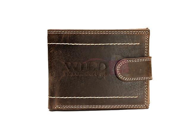 d8e37dffe Pánska kožená peňaženka Wild by Loranzo 9995l | penazenkyshop.sk