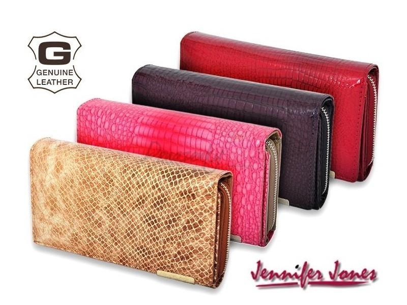 9c5dd3b244 Dámska kožená peňaženka Jennifer Jones 5261