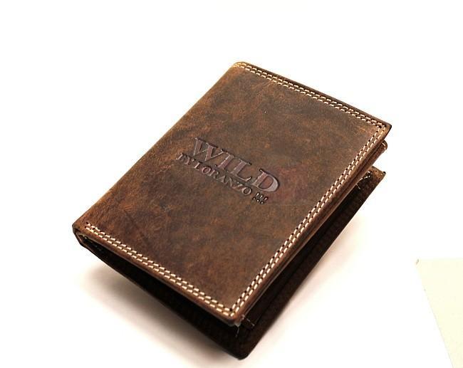 6cff8e1b4 Pánska kožená peňaženka Wild by Loranzo 882 | penazenkyshop.sk